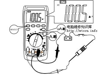 交直流电流的测量方法(点击看大图)