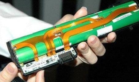 笔记本电脑电池内部电池组结构