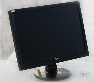 2000多元的游戏电脑配置显示器:aoc 919sw+