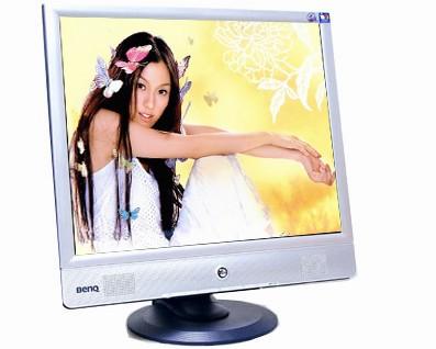 BenQ(明基)FP71E液晶显示器开机黑屏维修过程