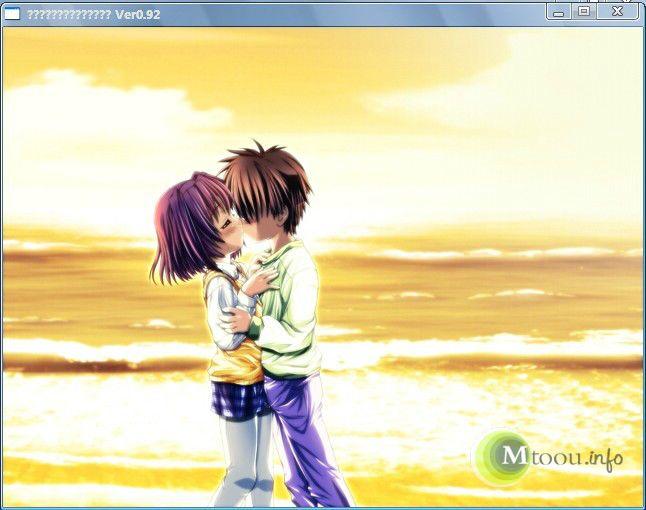 《水色》游戏的浪漫一幕