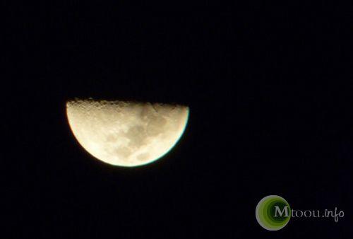 松下FP3卡片照相机拍月亮,入门级卡片拍月亮不再是幻想