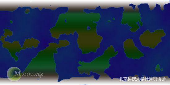 PS画地球陆地
