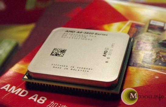 AMD APU A8-3850