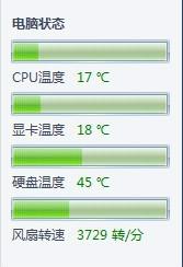 AMD APU A8-3850处理器的发热量小