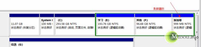 Win7磁盘管理分区