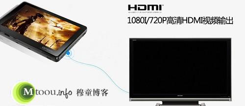 利用HDMI接口实现高清显示