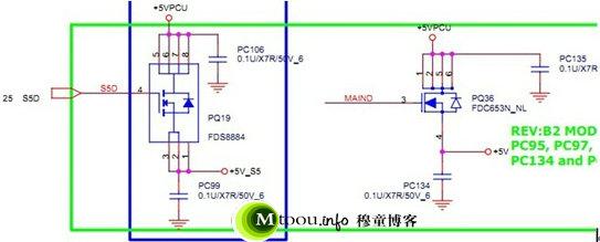 宏基Acer 4720笔记本不开机电路分析