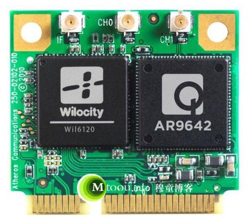 Wilocity Wil6120与Atheros AR9642芯片提供的WiGig