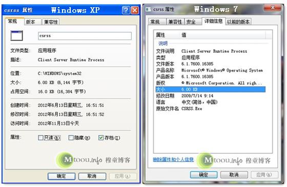 Csrss.exe进程信息