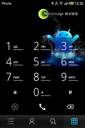 修改智能手机拨号界面背景图片