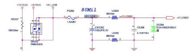 笔记本电脑USB接口不能用维修电路分析