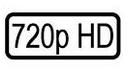 720P标志