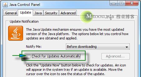 禁止Java自动更新jusched.exe