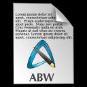 abw格式文件标志