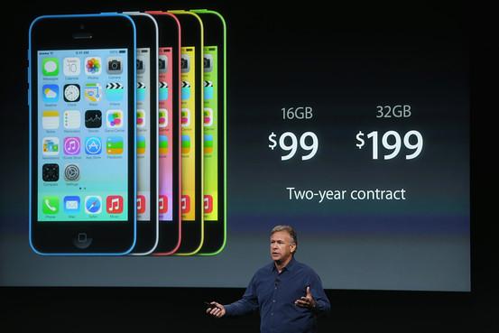 iPhone 5C 售价