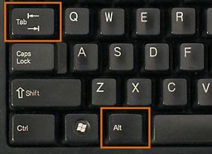显示桌面快捷键